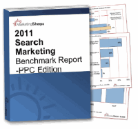 Cover of 2011 Search Marketing Benchmark Report - PPC Edition
