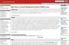 Open Source Content Management Systems(CMS) in Java