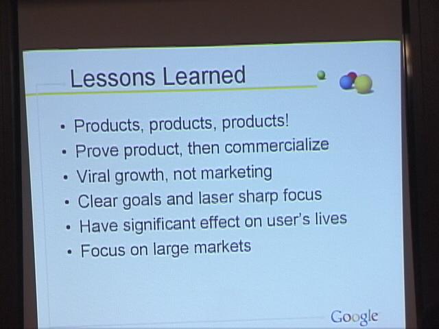 図3 5年前にGoogleが自らここで示した6つの教訓。