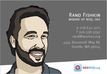 Rand's Business Card